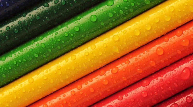 Hoe meer kleur, des te gekker het patroon, des te beter